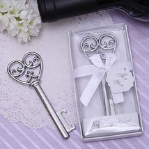 Chrome Key to my Heart Bottle Opener - Classic Theme Non-Personalized with Box