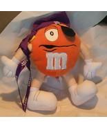 "M&Ms Minis Pirate Plush Doll Toy 2002 9"" - $14.99"