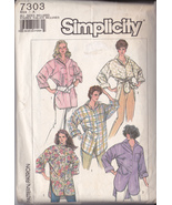 Simplicity 7303 size a  all sizes included  thumbtall