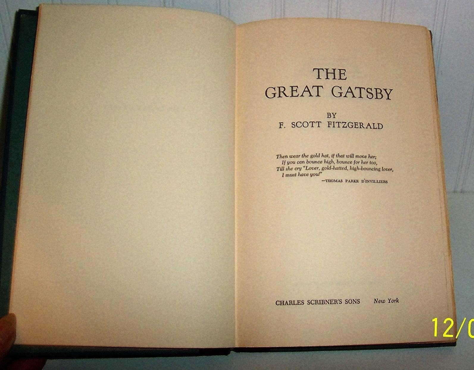 the great gatsby novel pdf