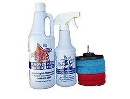 Bring It on Cleaner Water Spot Remover and Sealant Kit Plus Drill Pad - $39.77