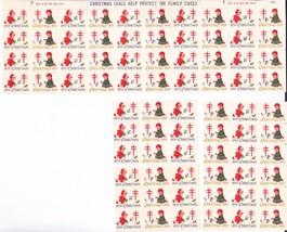 NTA 76 Christmas Greetings Seals 1959 - $2.99