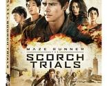 Maze Runner The Scorch Trials (DVD + Blu-ray + Digital HD) Ultimate Fan Edition