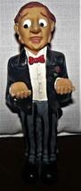 "Vintage Man Waiter Ceramic Figure 8"" - $23.27"