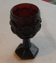 Avon Cranberry Goblet - $6.99