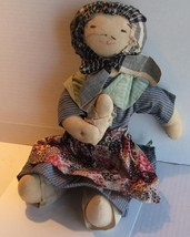 Fairfield Folk Art Peasant Doll - $39.99