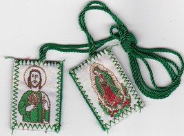 Scapular of St. Judas / Virgin of Guadalupe