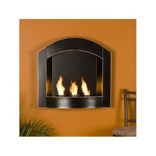 Wall mounted gel fuel fireplace home living room bedroom for Living room heater