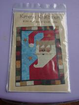 "Pattern 291 Santa Quilt 32"" x  47"" - $5.00"