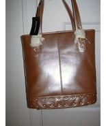 Sondra Roberts Pink Leather Tote Bag *New* - $49.99