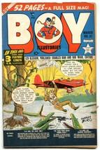 BOY COMICS #51 1950-CHARLES BIRO-PARACHUTE/GATOR COVER FN/VF - $94.58