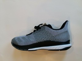 adidas Women's Crazyflight Bounce 2 Volleyball Black/Silver Metallic/Whi... - $60.00