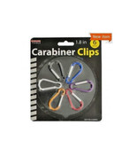 Carabiner Clip Set of 6 - Key Chain, D Ring, Buckle, and many other uses! - $8.07