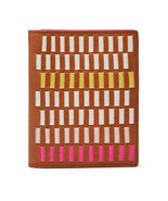 Fossil SL7523664 RFID Passport Woven Pink Multi This & That leather wall... - $48.25