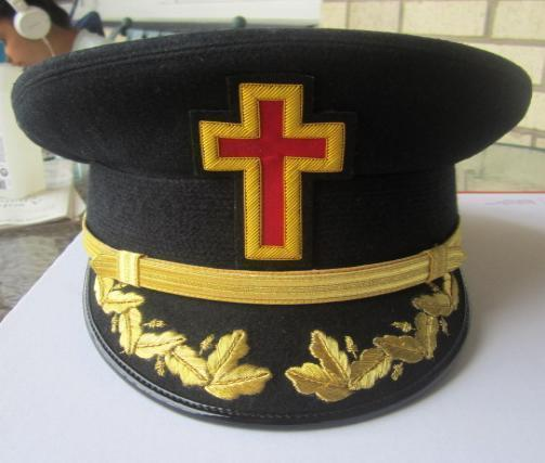 NEW MASONIC REGALIA KNIGHT TEMPLAR HATS - CP MADE - ALL SIZES - FREE SHIP IN USA