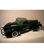 1935 Auburn 851 Speedster by FRANKLIN MINT Blac... - $150.00