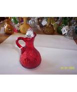 Viking Glass Red Inna Class Act #199 Cruet - $29.70