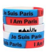 1 Je Suis Paris Wristband - I Am Paris Bracelet - Show Support for France - $2.85