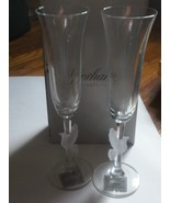 Gorham Crystal Dove Toasting Flutes - $24.99