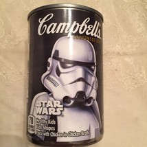 Star Wars Storm Trooper Campbell's Chicken Soup Limited Edition Can - New - $3.91