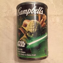Star Wars Yoda Campbell's Chicken Soup Limited Edition Can - New - $3.91