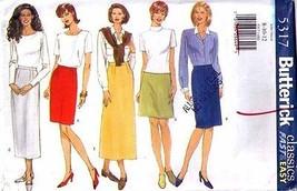 1997 SKIRTS Pattern 5317-b Size 8-10-12 - UNCUT - $12.59
