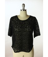 Anthropologie Weston Wear Black Lace Front Back... - $24.95