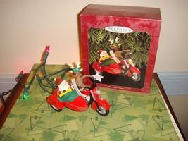 Hallmark 1997 Motorcycle Chums Ornament - $17.99