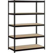 5 Shelf Steel Heavy Duty  Garage Steel Metal S... - $75.21