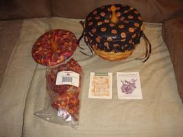 Longaberger 1996 Halloween Pumpkin Basket Plus Lids - $106.99