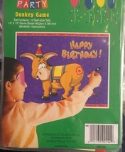 Pin the Tail on the Donkey Party Game for 16 Players Classic Childrens Game - $1.73