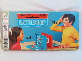 Battleship 1971 Board Game Milton Bradley 100% Complete Bilingual EUC - $19.68