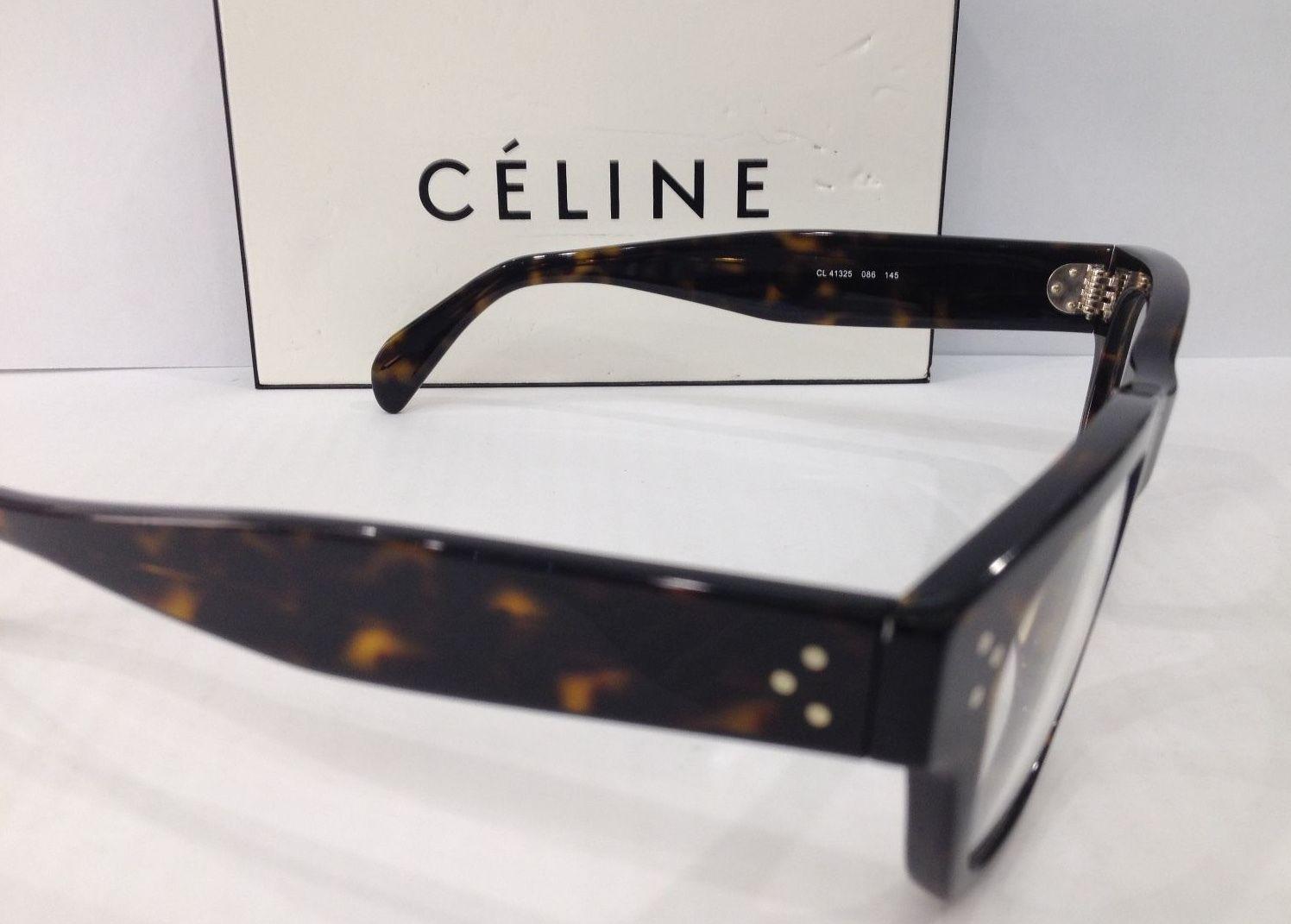 Glasses Frame Size 47 : CELINE CL 41324 COLOR 086 TORTOISE EYEGLASSES FRAME SIZE ...