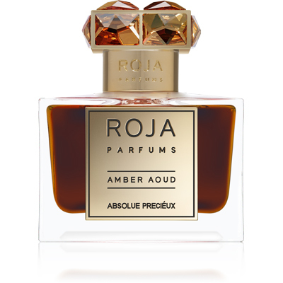AMBER AOUD by ROJA DOVE 5ml Travel Spray OUD CIVET Parfum ABSOLUE PRECIEUX