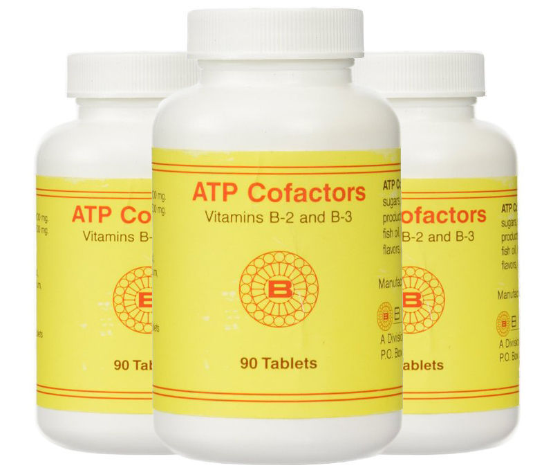 ATP Cofactors - 90 Tablets by OPTIMOX
