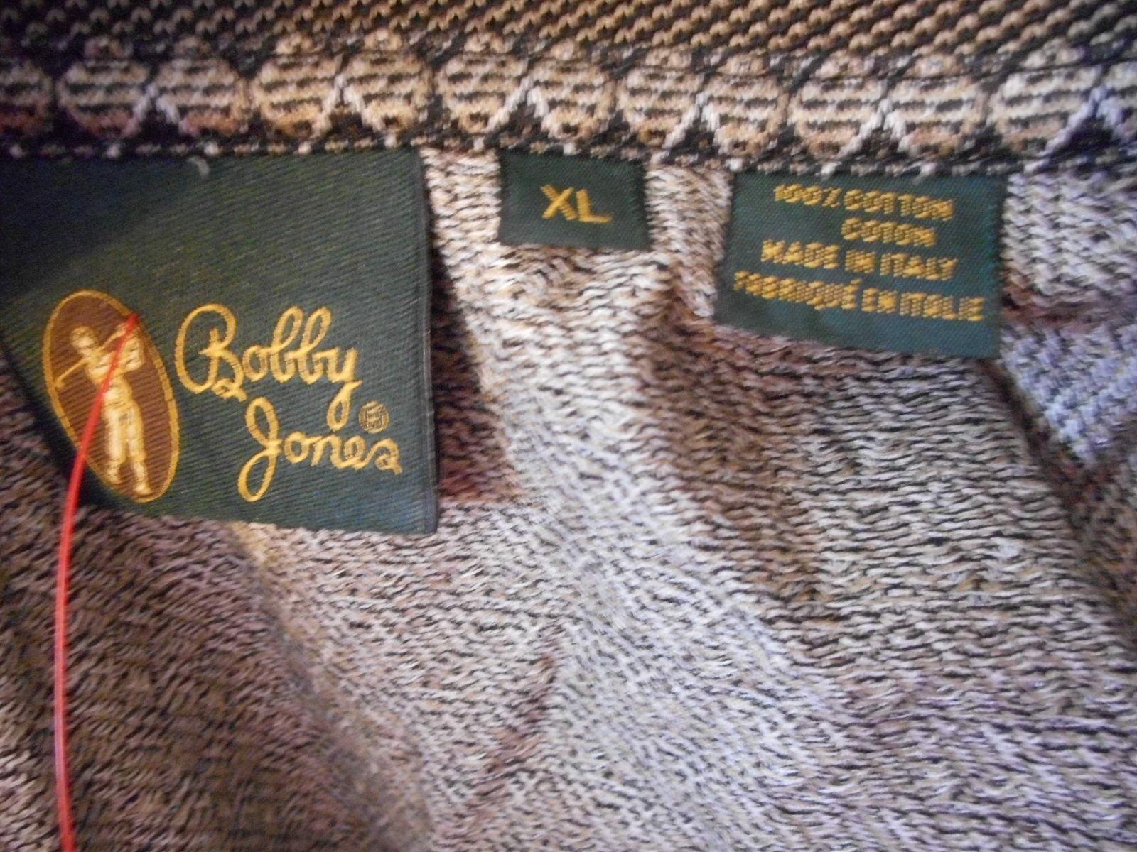 Size XL Bobby Jones Collection 100% cotton Golf shirt