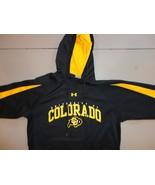 Black Hooded  NCAA Colorado Buffaloes Polyester Hoodie Sweatshirt Adult ... - $27.67