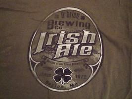 O'Brian Irish Ale Brewing Company Green St. Patrick's Day Party T Shirt L - $17.46