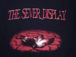 The Sever Display Heavy Death Metal Black T Shirt M - $17.56