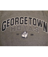 NCAA Georgetown Hoyas Bulldog College University Fan Gray Jansport T Shi... - $17.56