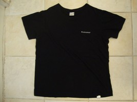 Converse All Stars Chuck Taylor Casual Super Soft Plain Black T Shirt M / L - $17.46