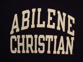 NCAA Abilene Christian College University Wildcats Purple Champion T Shirt S - $17.46