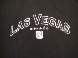 Las Vegas Nevada LV NV Sin City Vacation Souvenir Casino Hotel Black T Shirt S - $17.36