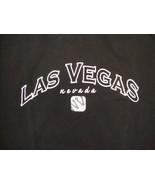 Las Vegas Nevada LV NV Sin City Vacation Souvenir Casino Hotel Black T S... - $17.36