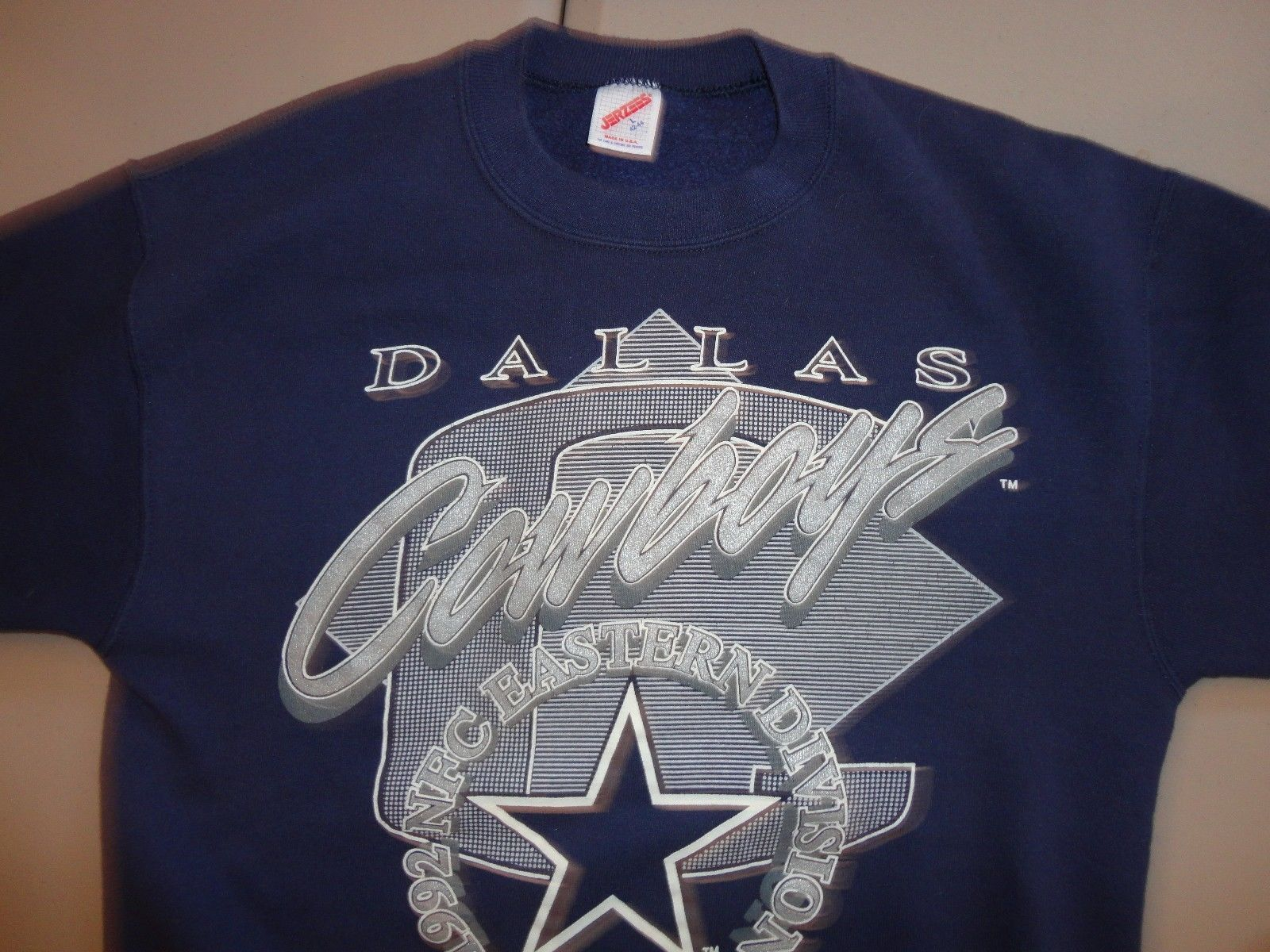 Vintage 1992 Blue NFL Dallas Cowboys Eastern and 33 similar items. S l1600 154fb9d9b