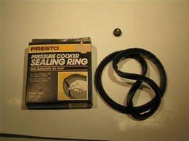 Presto Pressure Cooker Sealing Ring and Automatic air vent Part No 50076... - €6,86 EUR