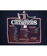 MLB Boston Red Sox Baseball Fan World Series Champions 2013 Majestic T S... - $17.56