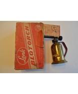 Vintage Lenk MFG, CO. mini blowtorch GAS - $19.99