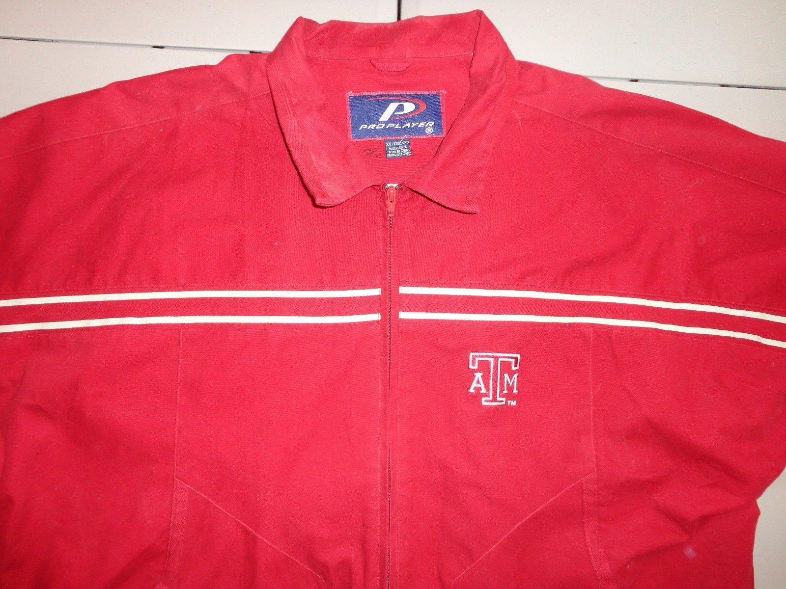 Primary image for NCAA Texas A&M Aggies Pro Player Adult 2XL Loose Fit Jacket Excellent Shape