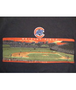 MLB Chicago Cubs Illinois Major League Baseball Fan Wrigley Field Blue T... - $17.36